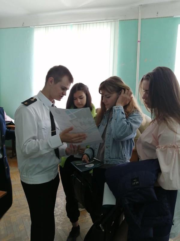 Курсанты в Азове