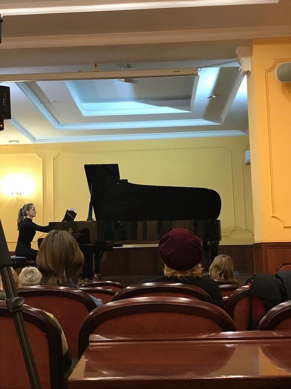 Концерт в консерватории