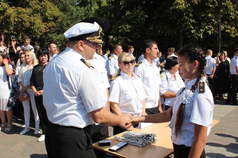 Посвящение в курсанты