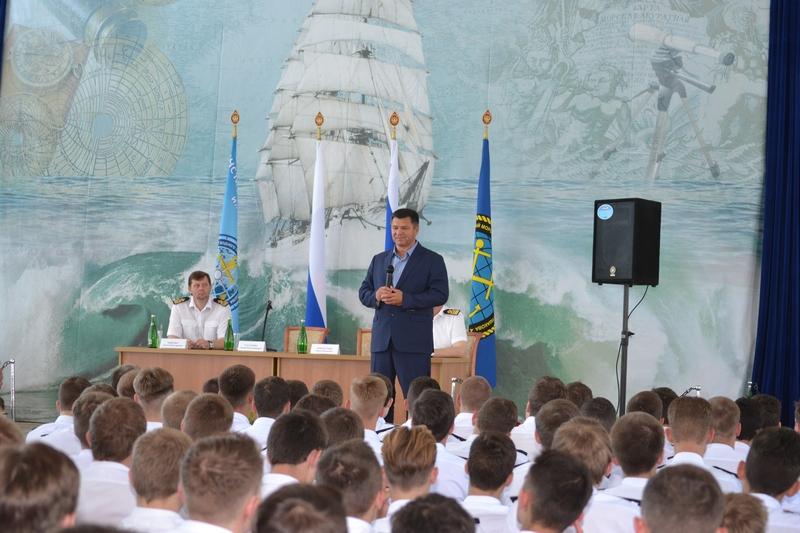Визит А. В. Тарасенко