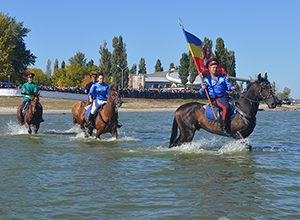 казаки на реконструкторском фестивале в таганроге
