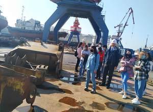 Экскурсия на судоремонтном заводе ОАО «Моряк»